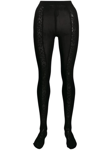 DOLCE&GABBANA lace panel tights