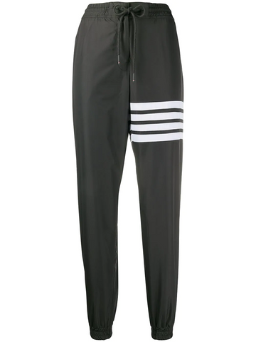 THOM BROWNE 4-bar flyweight tech track pants