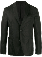 PRADA single-breasted fitted blazer