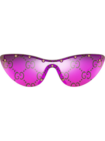 GUCCI cat-eye mask sunglasses