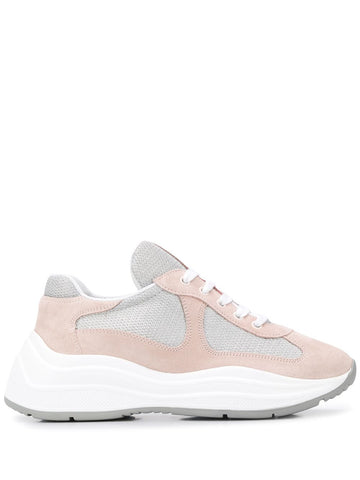 PRADA mesh low-top sneakers