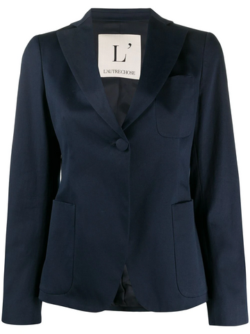 L'AUTRECHOSE one-button fitted blazer