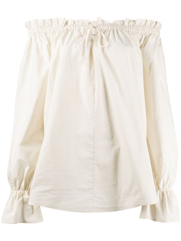 L'AUTRE CHOSE drawstring fastening loose-fit tunic