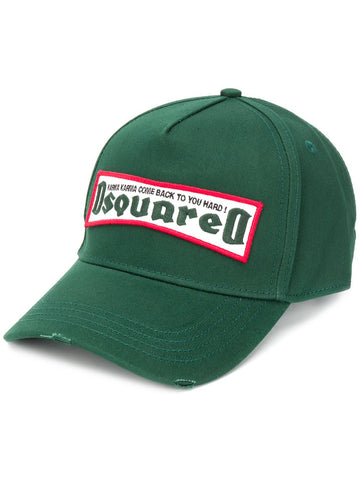 DSQUARED2 logo patch Karma cap