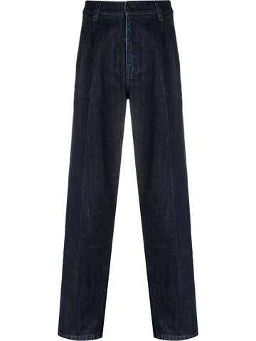 PRADA darted straight-leg jeans