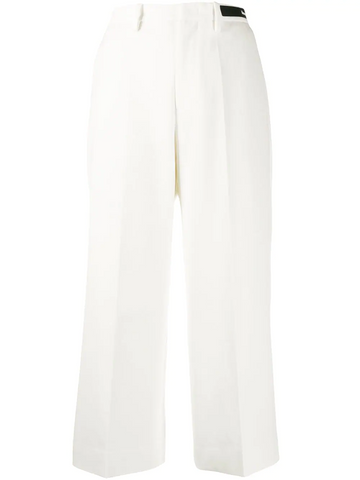 MONCLER straight cropped trousers