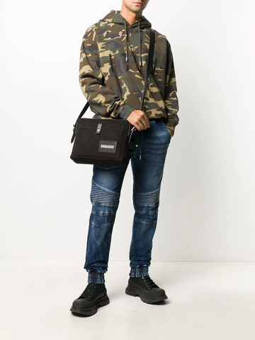 DSQUARED2 camouflage-print Icon hoodie