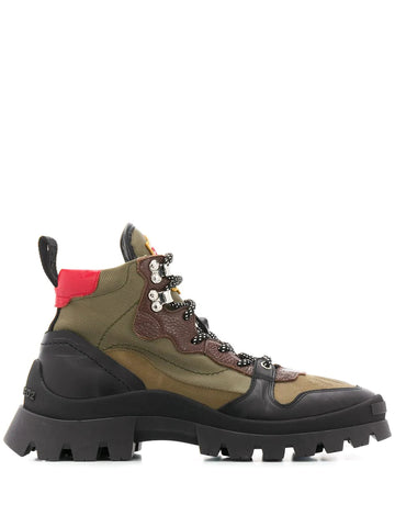 DSQAURED2 military-style ankle boots
