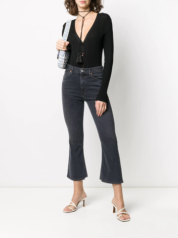 CITIZENS of HUMANITY Demy cropped flared jeans