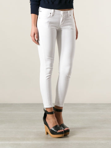 CITIZENS of HUMANITY Cora crop white