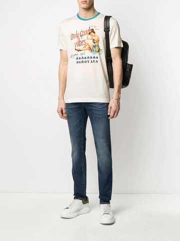 DOLCE&GABBANA Only Good Vibes T-shirt