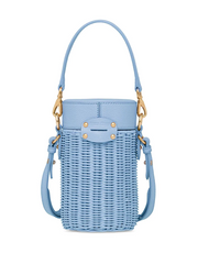 MIU MIU wicker detachable straps shoulder bag