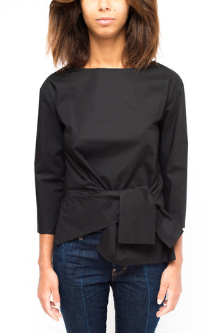Brian Dales cotton shirt Black