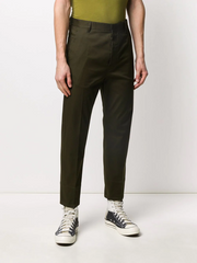 DSQUARED straight-fit trousers