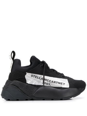 STELLA MCCARTNEY Eclypse logo-tape sneakers
