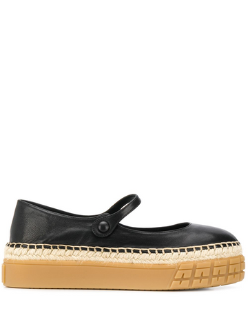 PRADA Mary-Jane espadrilles