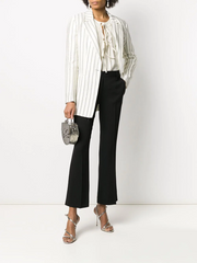 L'AUTRE CHOSE tailored cropped trousers