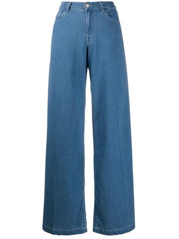 J BRAND denim wide leg jeans