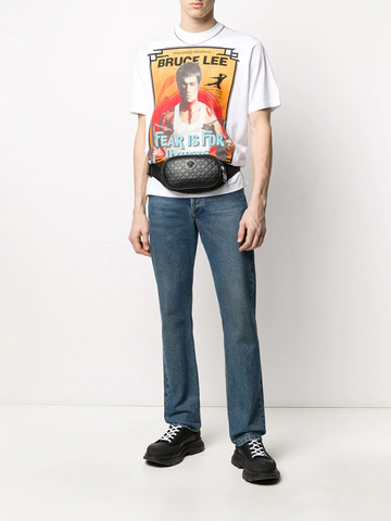 DSQUARED Bruce Lee print T-shirt