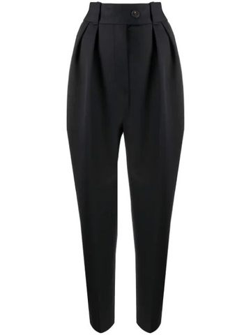 MIU MIU high-waisted wide leg trousers