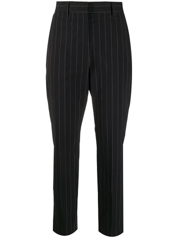 PAUL SMITH cropped pinstripe trousers