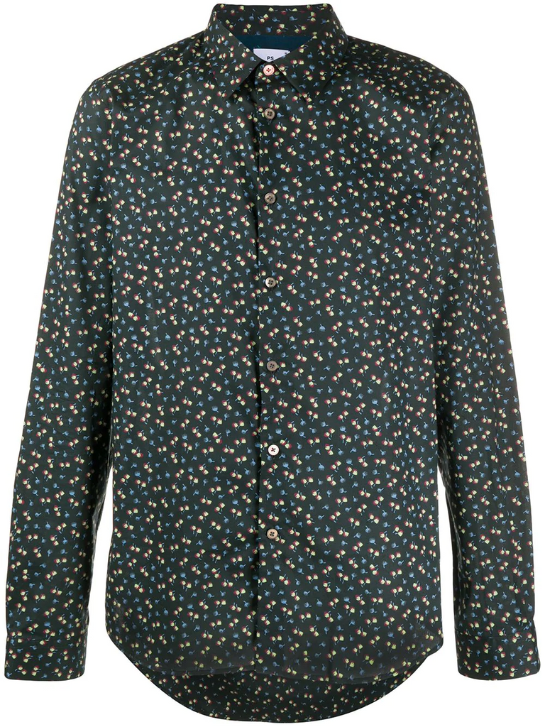 PAUL SMITH floral-print shirt