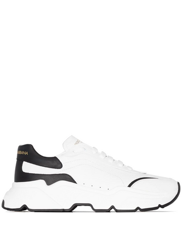 DOLCE&GABBANA Day Master two-tone leather sneakers