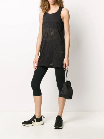 RICK OWENS long mesh tank top