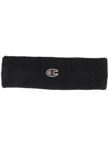 RICK OWENS logo patch headband