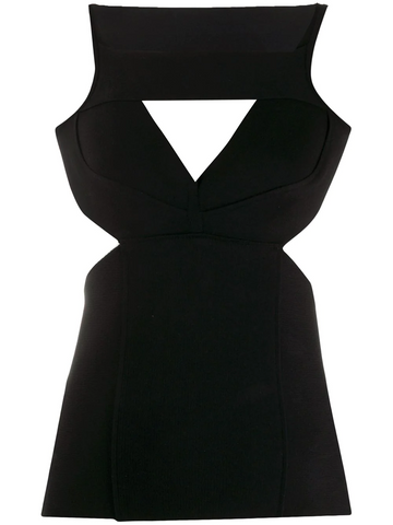 RICK OWENS Corona cut-out top