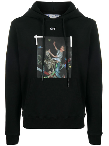 OFF-WHITE Pascal Painting print hoodie