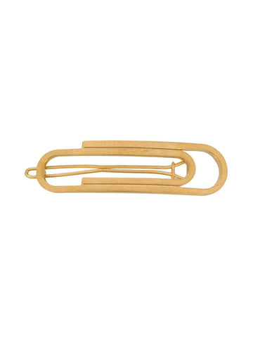 OFF-WHITE paperclip hair clip