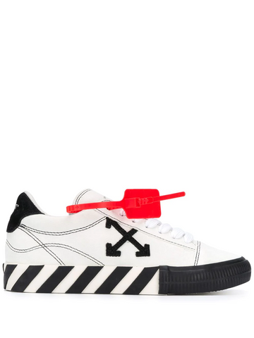 OFF-WHITE Arrows vulcanised low-top sneakers