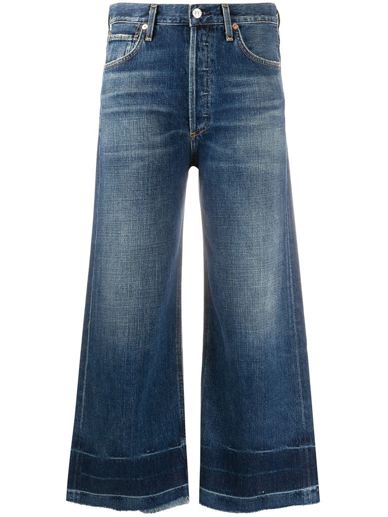 CITIZENS of HUMANITY cropped flared jeans