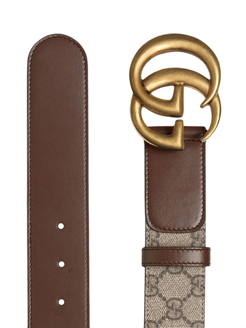 GUCCI double G buckle GG belt