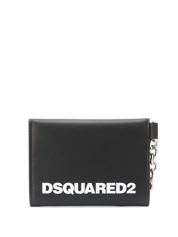DSQUARED2 logo print wallet