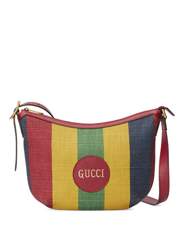 GUCCI Baiadera stripe shoulder bag