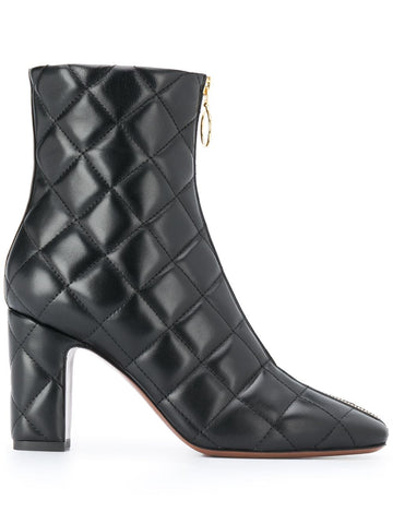 L'AUTRE CHOSE square toe quilted boots