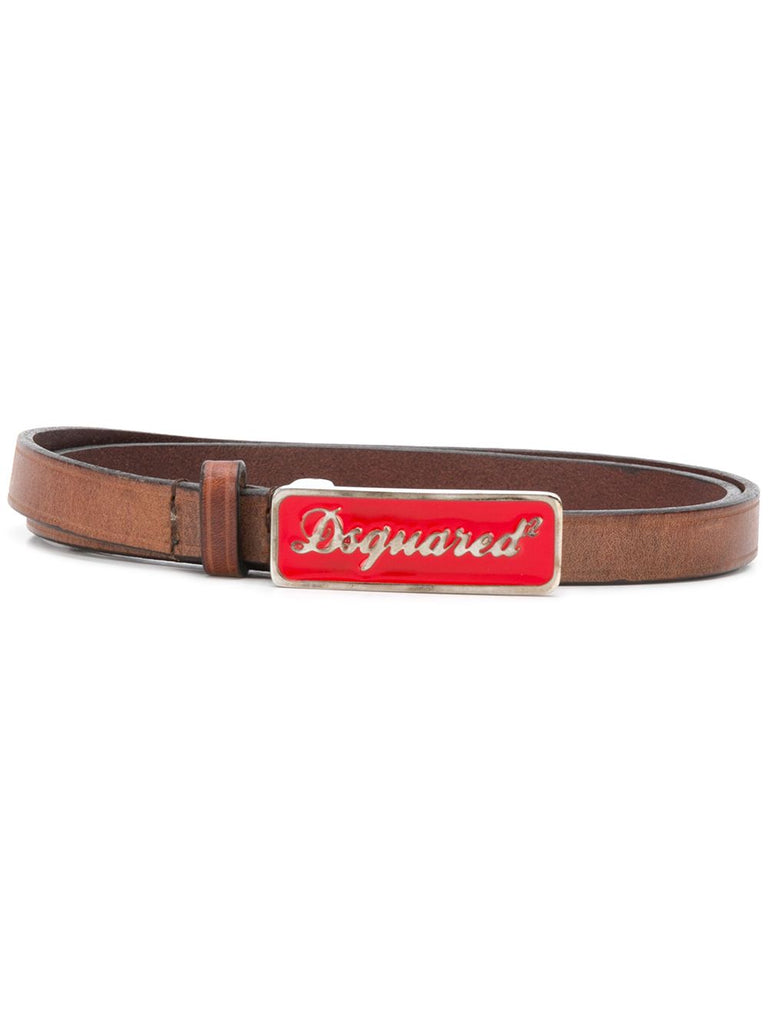DSQUARED2 belt red