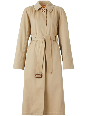 BURBERRY belted car coat