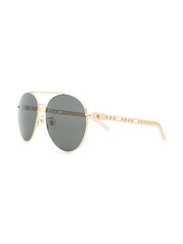GUCCI aviator-frame sunglasses