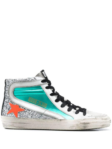 GOLDEN GOOSE Slide high-top sneakers