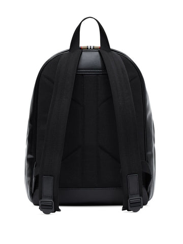 BURBERRY logo and Icon stripe backpack