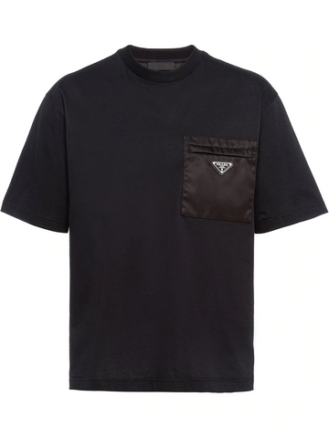 PRADA logo-plaque T-shirt