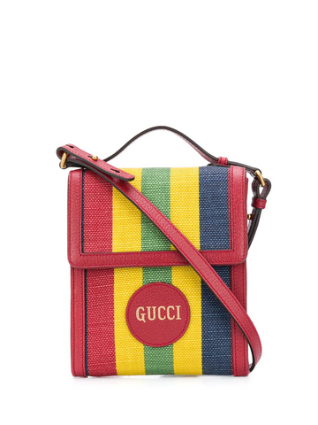 GUCCI Baiadera stripe crossbody bag