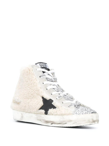 GOLDEN GOOSE Francy shearling sneakers