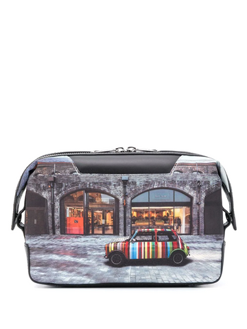 PAUL SMITH storefront-print wash bag