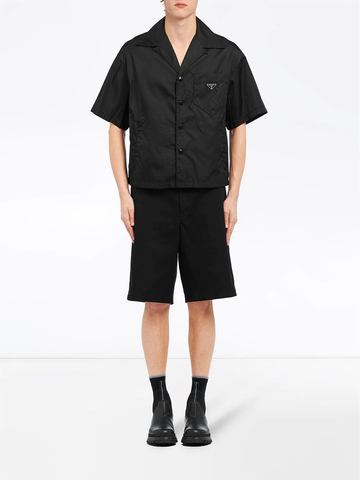 PRADA cropped shell shirt