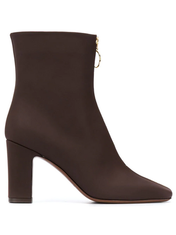 L'AUTRE CHOSE zip-up ankle boots