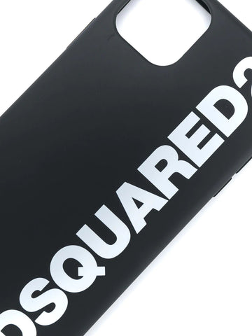 DSQAURED2 logo print iPhone 11 Pro Max case